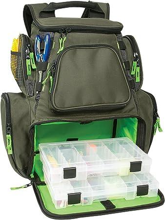 Custom Leathercraft Multi-Tackle Comfortable Fishing Backpack