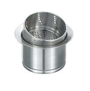 Blanco 441232 3-in-1 Disposal Flange, Stainless Steel
