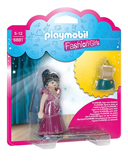 Playmobil Tienda de Moda Party Fashion Girl Figura con Accesorios 6881