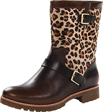 sperry leopard boots