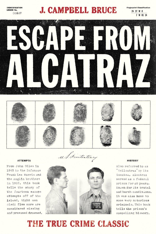 Escape From Alcatraz The True Crime Classic Campbell Bruce J
