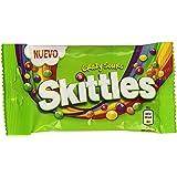 Skittles - Crazy Sours - Caramelos masticables con una crujiente capa de azúcar - 38 g