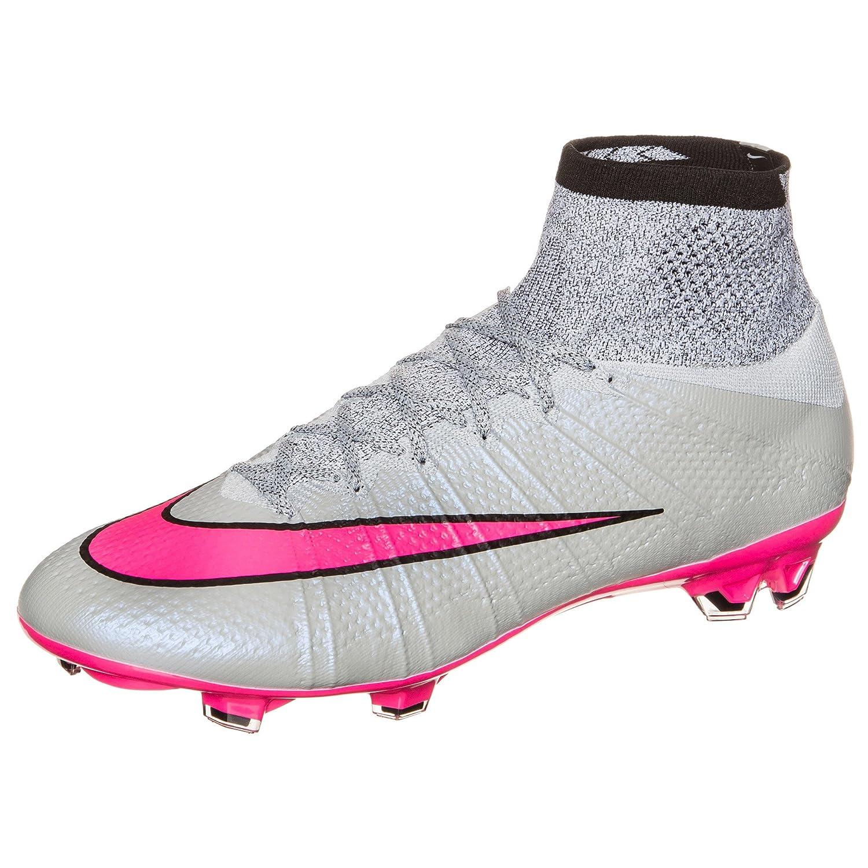 best online newest official photos Nike Mercurial Superfly FG - Grey/Hyper/Pink/Black/Black ...