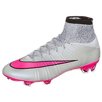 best sneakers 16aea 441d0 Nike Mercurial Superfly FG - Grey/Hyper/Pink/Black/Black ...