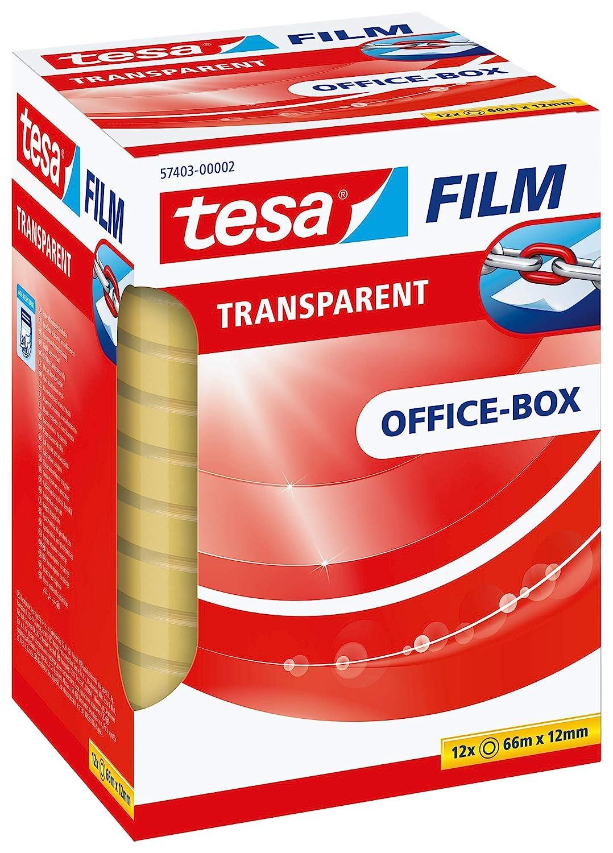 Tesa film transparent 66m:15mm 1 Rolle im Flowpack