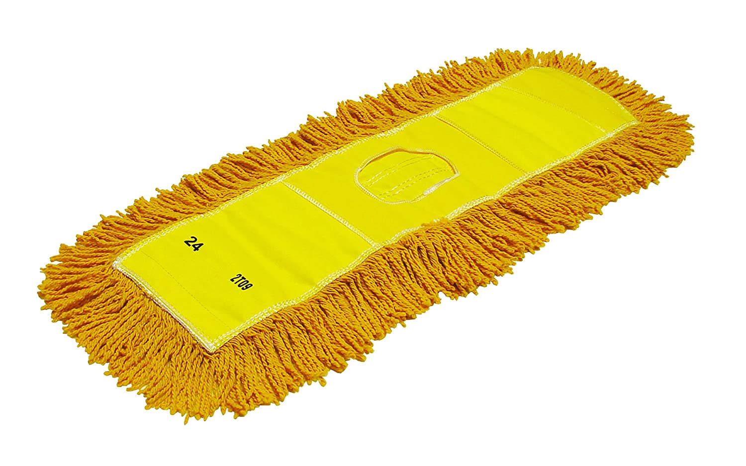 Pack of 6 Golden Star ACB48SITYY Synergy Dust Mop Head with Combination Style Backing