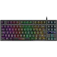Mars Gaming MKTKL, Teclado H-Mech RGB 8 efectos