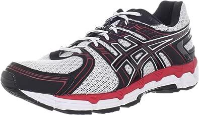 Zapatillas de running GEL-Oracle para hombres, blancas / negras / rojas, 9 4E US: Amazon.es: Zapatos y complementos