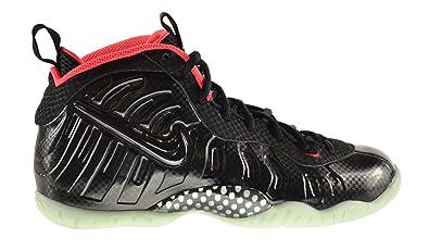 9ce58d3f Nike Little Posite Pro Yeezy (GS) Big Kids Shoes Black/Black-Laser Crimson  644792-001