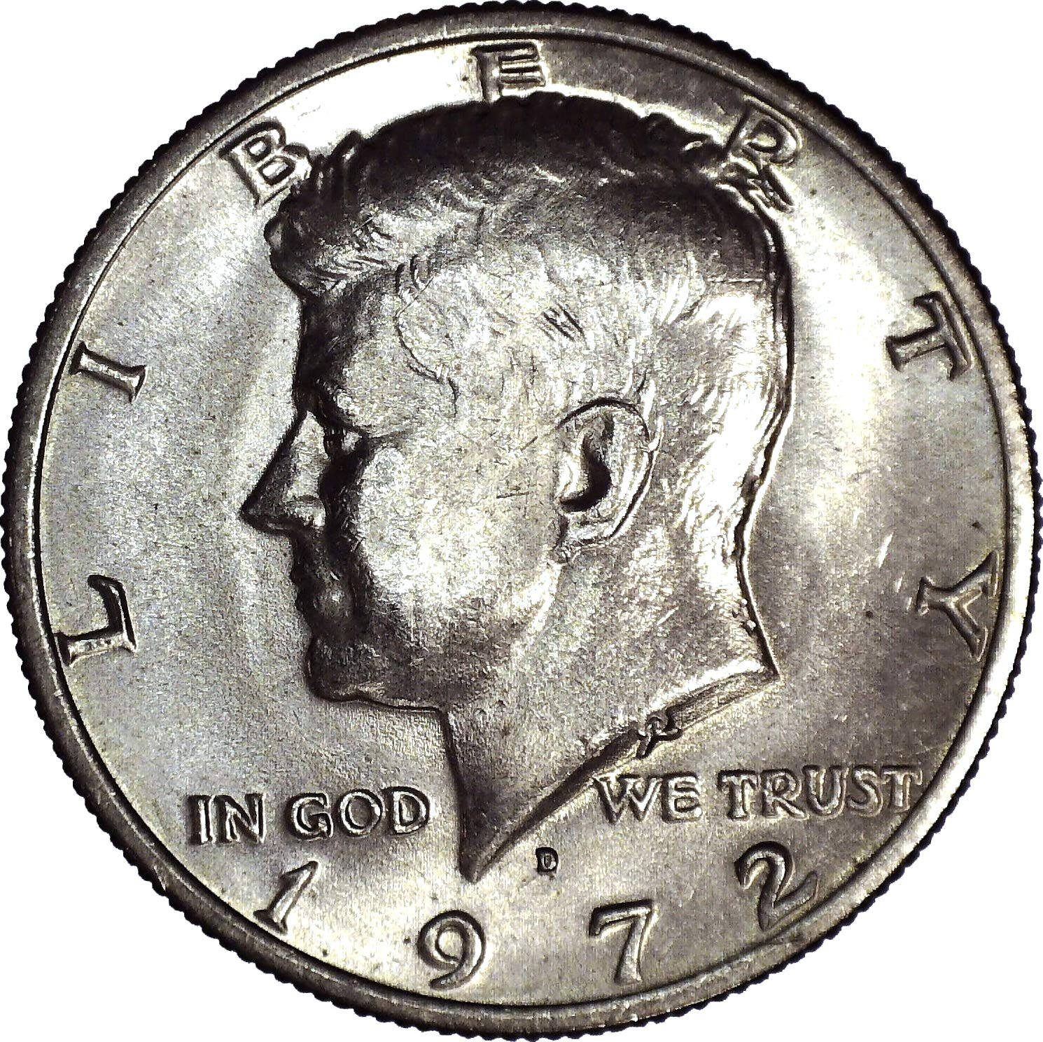 1972 P Kennedy Half Dollar Roll