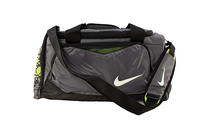 Amazon.com  Nike Max Air Small Duffel Gym Bag in Gray for Men and Women   Clothing 4e95bdb2e1