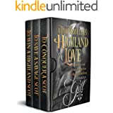 A Time-Traveler's Highland Love: Books 1-3