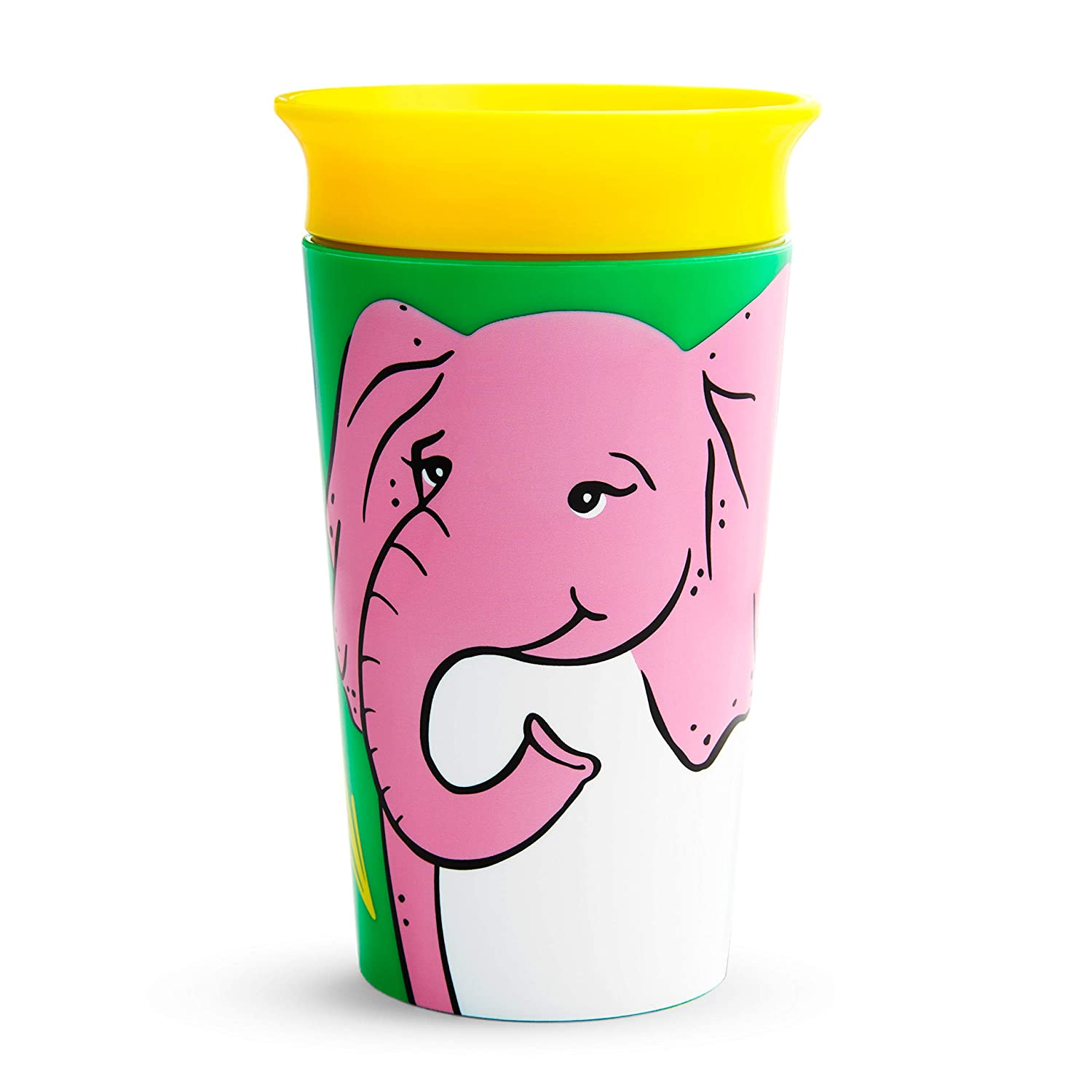Munchkin Miracle 360 Wild Love Sippy Cup, 9 Oz, Elephant