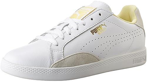 a2cb3b027d5796 Puma Match Lo Basic Sports WN - Zapatillas de Tenis para Mujer, White/Mellow