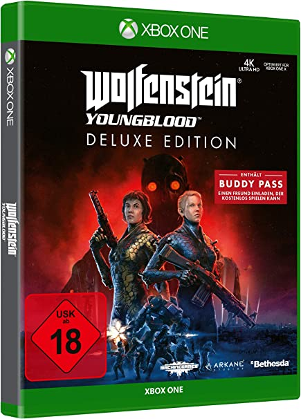 Wolfenstein Youngblood - Deluxe Edition (Deutsche Version): Amazon ...