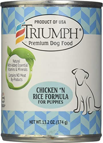 Triumph Puppy Formula Canned Dog Food Case 13.2oz