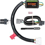 curt 56170 vehicle-side custom 4-pin trailer wiring harness for select honda  pilot