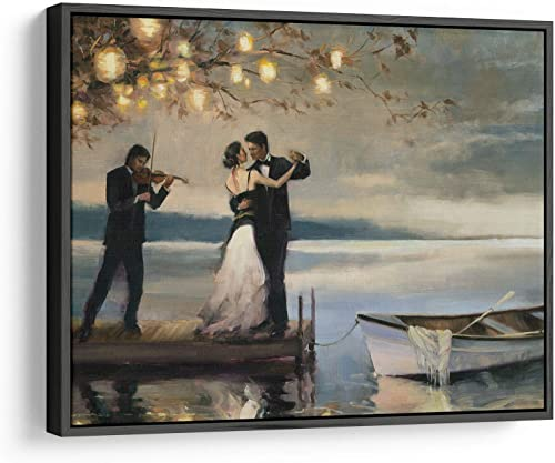Twilight Romance Canvas Wall Art