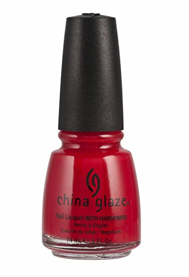 China Glaze Nail Polish Italian Red 05 Fluid Ounce
