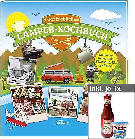 El feliz Camper de libro de cocina con diseño tzner Mostaza y ...