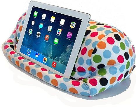 tablets books etc Handmade LOVE HEARTS. Bean bag cushion stand for iPads