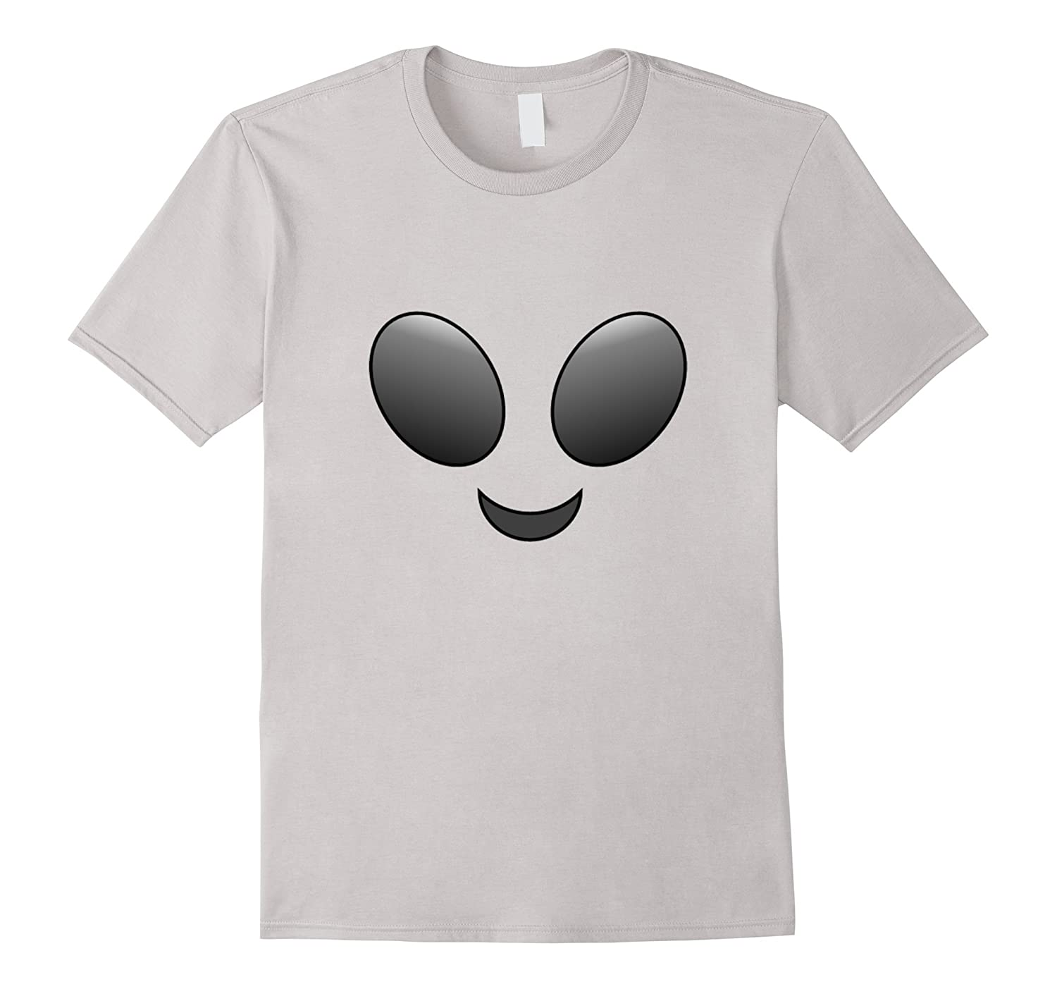 Halloween Alien Emoji Shirt Costume-FL
