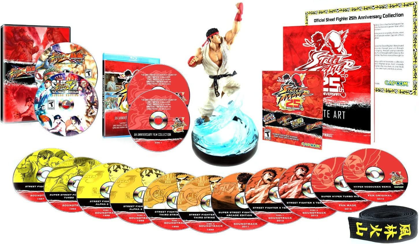 street fighter 25th anniversary collector\\\\\\\\\\\\\\\'s set for xbox 360