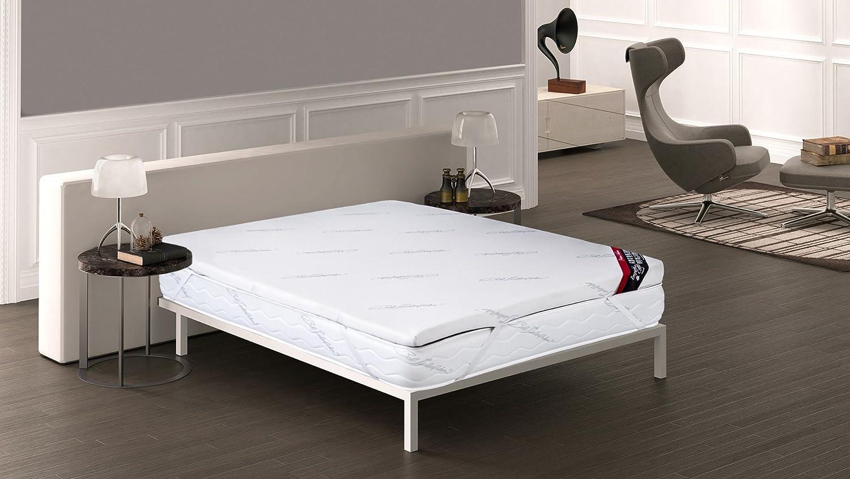 Imperial Confort - Topper viscoelástico - Ideal para aliviar tensiones musculares y puntos de presión - Grosor 5 cm - 150x190
