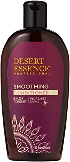 product image for Desert Essence Smoothing Conditioner - 10 Fl Oz - Hi-Gloss Technology - Increases Shine 5x - Apple Cider Vinegar - Quinoa Protein - Tea Tree Oil - Smooth & Soften Hair - Sulfate-Free