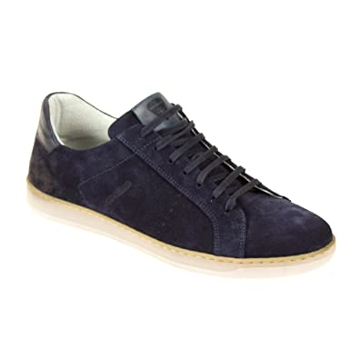 online store f6e98 ecc98 Strellson Herren Sneaker Low Wildleder Blau, Schuhgröße:40 ...