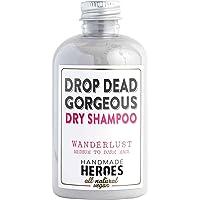 All Natural, Vegan Dry Shampoo Powder – For Medium to Dark Color & Brunette Hair – Volume Hair Powder | Travel size | 2…