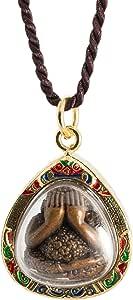 The Weeping Buddha Golden Amulet Thai Buddha Amulet Pendant