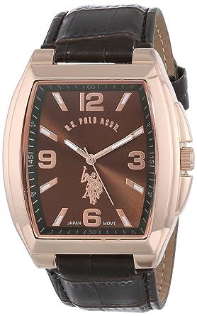 U.S.POLO ASSN. USC50181 - Reloj de Pulsera Hombre, Poliuretano ...