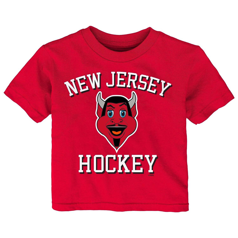 【海外限定】 (New Jersey B076429R4S Devils, - 12 Months, Red) Short - NHL unisex-child