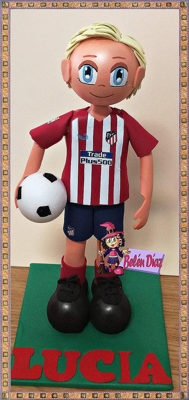 Muñeco fofuchas Atlético de Madrid GRIEZMANN 27 cms. fútbol liga: Amazon.es: Handmade