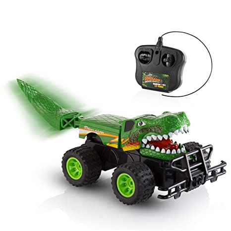 11877716ab Advanced Play Cool Dinosaur Remote Control Toy Car for Kids 4WD Off Road  Vehicle Monster Truck