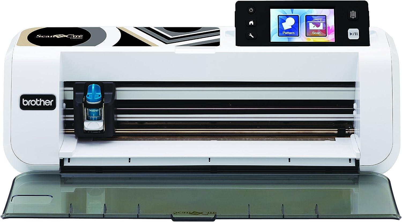Brother CM260ScanNCut máquina de Corte/marcaje con escáner Integrado Acero Inoxidable/plástico Blanco/Negro 50x 17x 20cm.