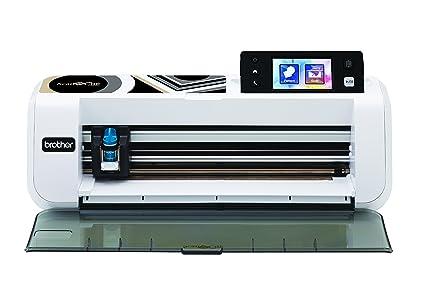 218049fe0 Brother CM260 ScanNCut máquina de Corte/marcaje con escáner Integrado Acero  Inoxidable/plástico Blanco