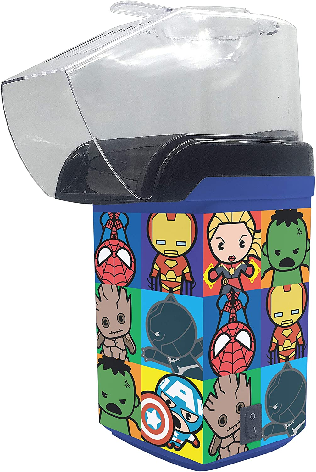 Marvel Kawaii Popcorn Maker- Avengers Assemble Kitchen Appliance