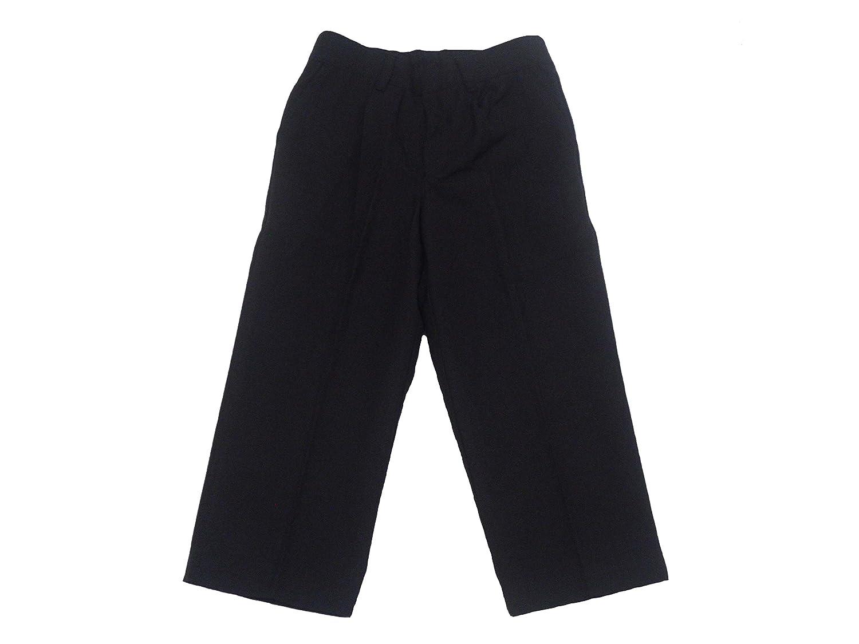 Boys School Trousers Uniform Black Or Grey 3-16 Years
