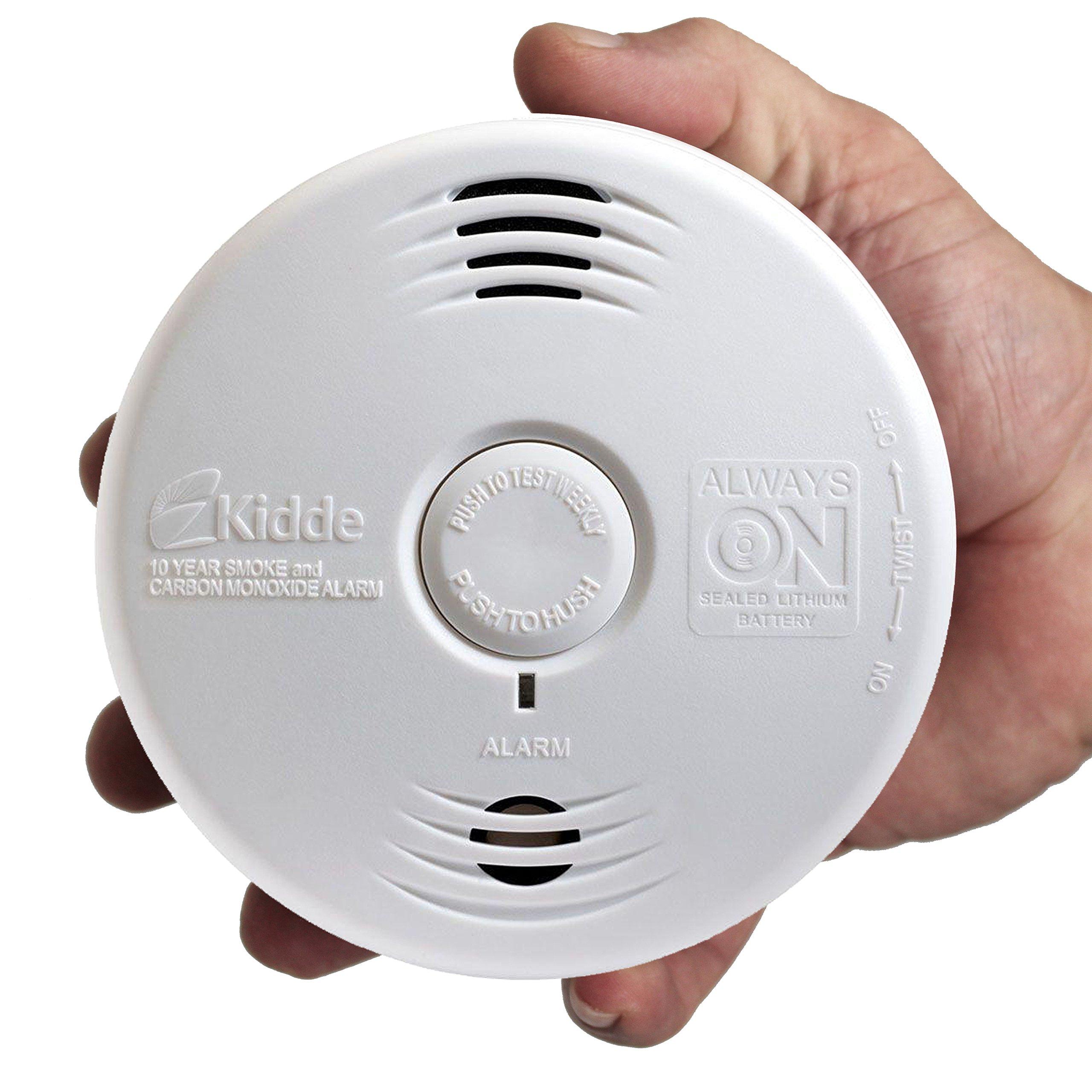 Worry-Free Hardwired Smoke & Carbon Monoxide Alarm with Lithium Battery Backup I12010SCO by Kidde (Image #11)