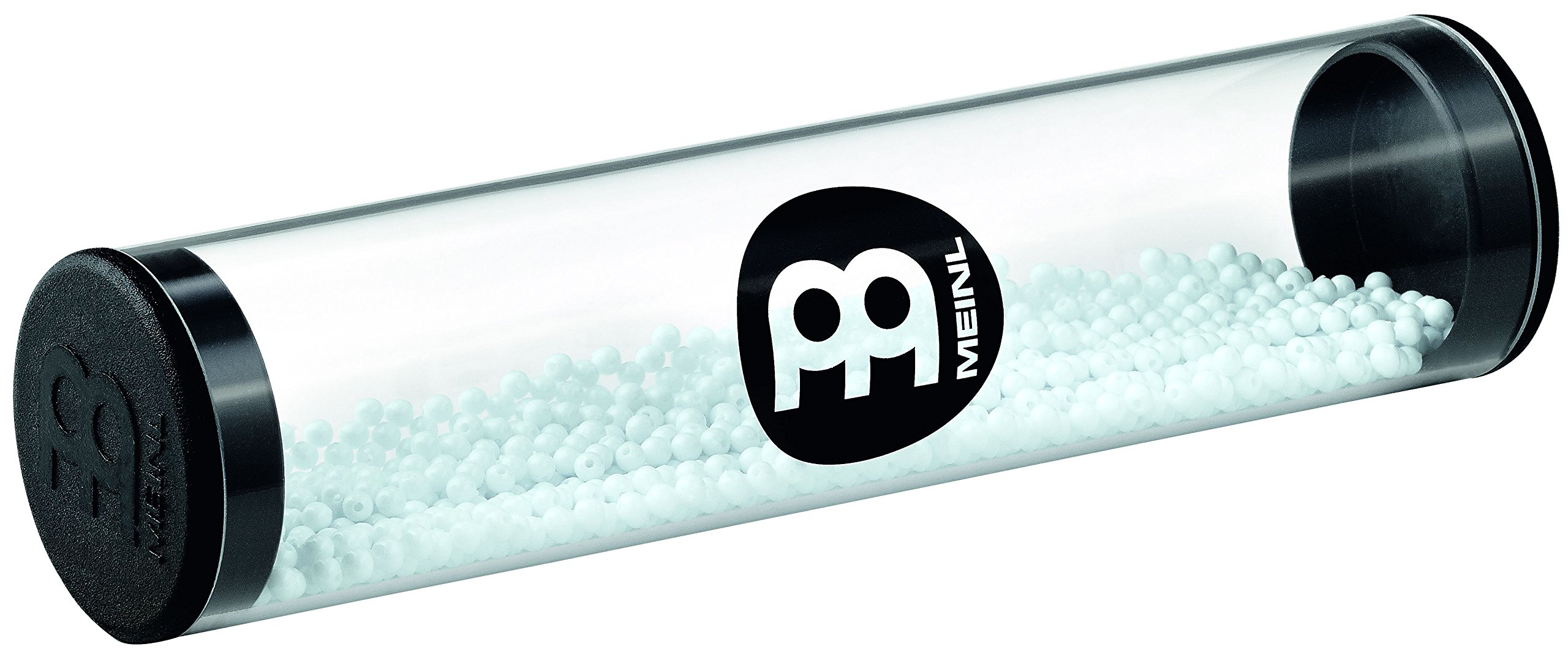Meinl Percussion Crystal Shaker with Soft Filling - NOT MADE IN CHINA - Low Volume for Recording Sessions and Live Acoustic Shows, 2-YEAR WARRANTY, White (SH26-L-S)