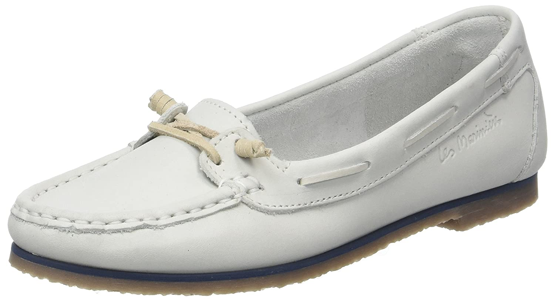 TBS Damen Flavie Weiß Mokassin, Weiß Weiß Flavie (Blanc 007) d005d7