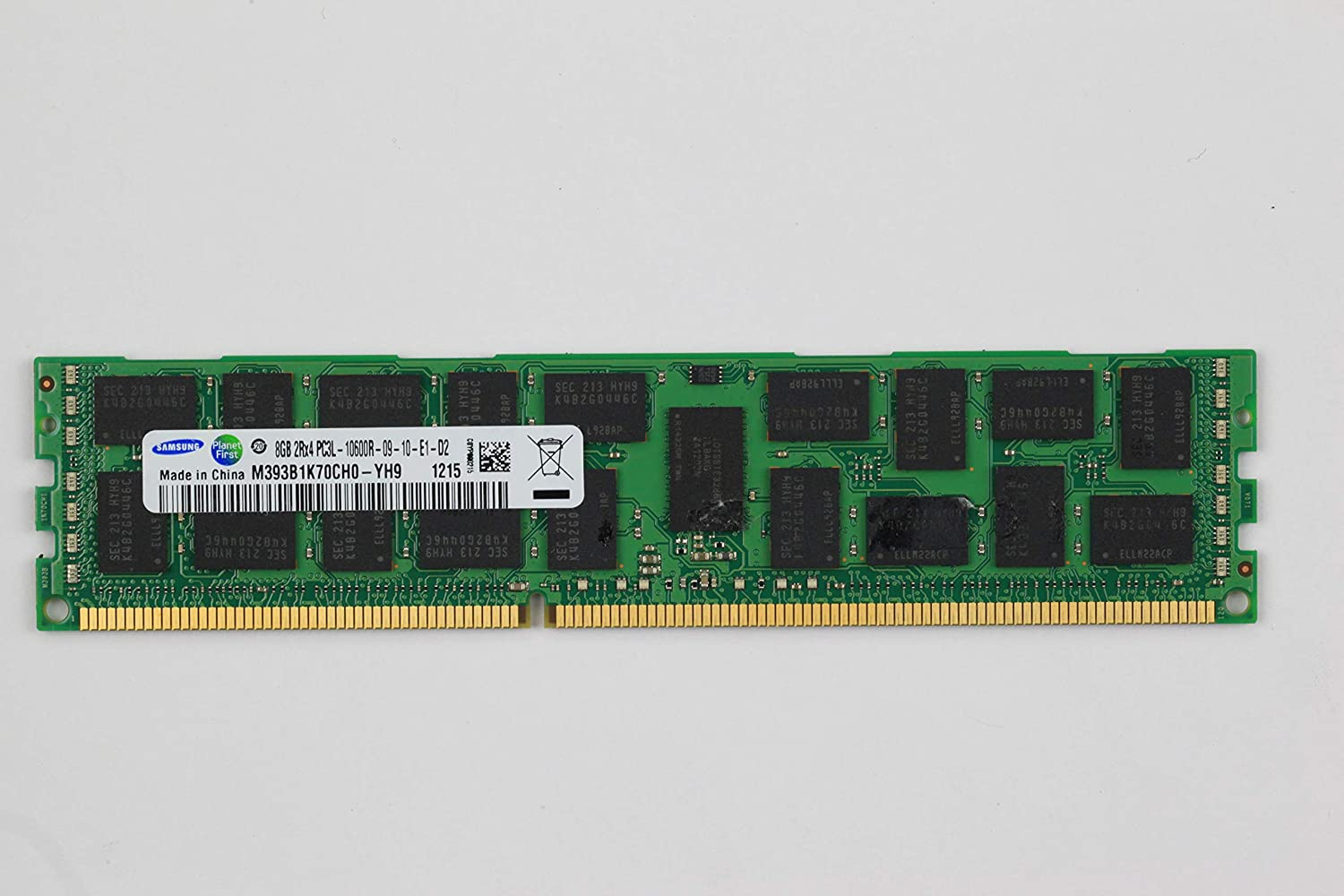 New Samsung 16GB 2X8GB 2RX4PC3-10600R DDR3-1333 CL9 ECC REG Server Memory Module