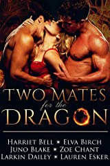Two Mates for the Dragon: MMF Bisexual Menage Romance Kindle Edition