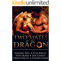 Two Mates for the Dragon: MMF Bisexual Menage Romance