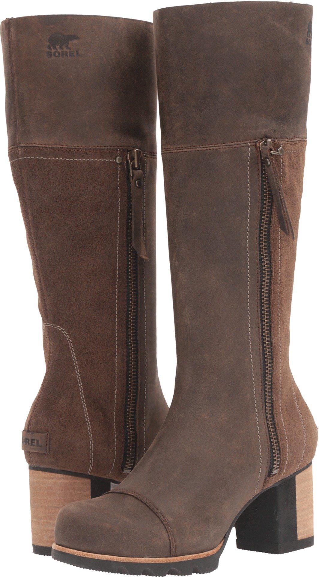 Sorel Addington Tall Boot - Women's Umber / Black 8.5 by SOREL (Image #1)