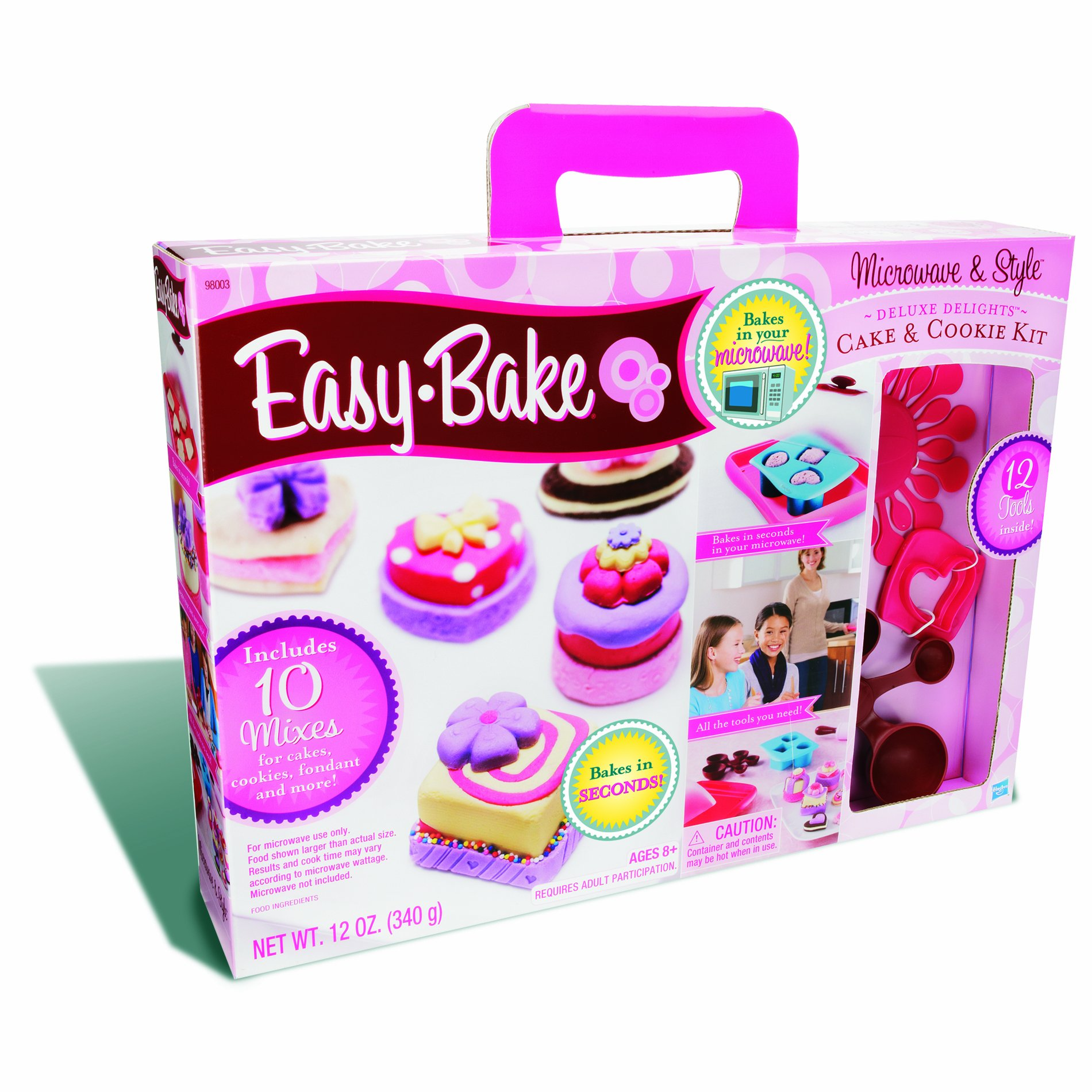 Easy Bake Microwave and Style Deluxe Delights