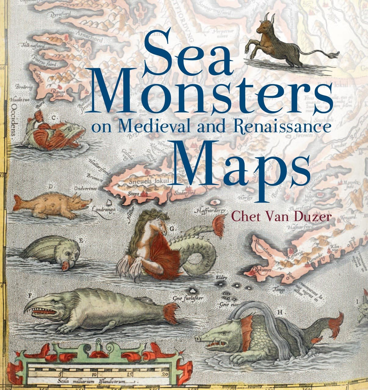 Sea monsters on medieval and renaissance maps chet van duzer sea monsters on medieval and renaissance maps chet van duzer 9780712357715 amazon books gumiabroncs Images