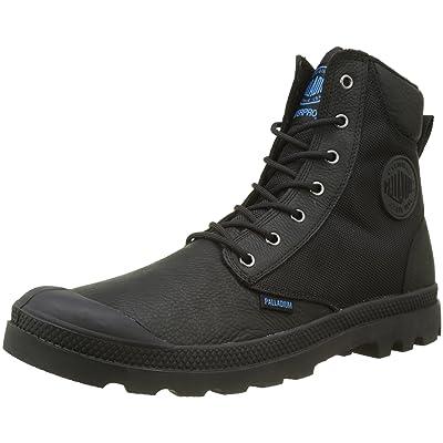 Palladium Men's Pampa Sport Cuff Wpn Boots, Black, 8 US: Clothing